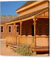 Grafton Ghost Town Canvas Print