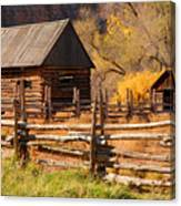 Grafton Homestead Canvas Print