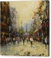 Grafton St.dublin Canvas Print