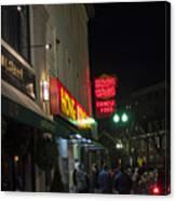 Grafton Street Pub And The Hong Kong In Harvard Square Cambridge Ma Canvas Print