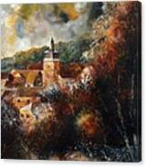 Graide Village Belgium Canvas Print