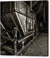 Grain Bin Canvas Print