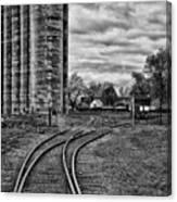 Grain Elevators 15222 Canvas Print