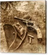 Grammas Gun 2 Canvas Print