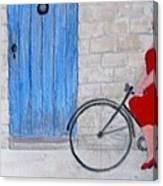 Gran In Provence Canvas Print
