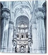 Granada Cathedral Interior Canvas Print
