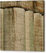 Granary Silos With Window Canvas Print