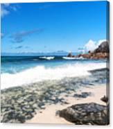 Grand Anse Beach Canvas Print