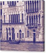 Grand Canal 2. Venice Italy Canvas Print