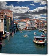 Grand Canal Daylight Canvas Print