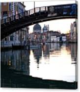 Grand Canal In Venice At Sunrise Canvas Print