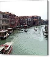 Grand Canal Venice Italy Canvas Print