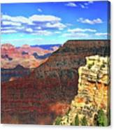 Grand Canyon # 22 - Mather Point Overlook Canvas Print