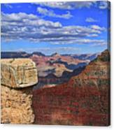 Grand Canyon # 29 - Mather Point Overlook Canvas Print