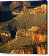 Grand Canyon Arizona Light And Shadow 1 Canvas Print