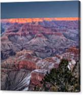 Grand Canyon Blue Hour Canvas Print
