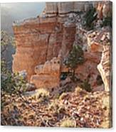 Grand Canyon Bluff Canvas Print
