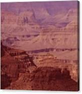 Grand Canyon Distances Canvas Print