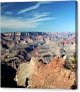 Grand Canyon Evening Light Canvas Print
