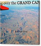 Grand Canyon Flight Canvas Print