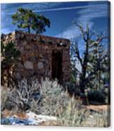 Grand Canyon Homestead Canvas Print