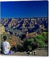 Grand Canyon Meditation Canvas Print