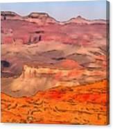 Grand Canyon National Park Summer Canvas Print
