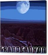 Grand Canyon Nights Canvas Print