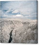 Grand Canyon Of Pa In Infrared Canvas Print