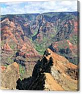 Grand Canyon Of The Pacific Canvas Print
