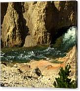 Grand Canyon Of The Yellowstone 3 Canvas Print