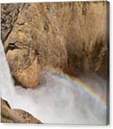 Grand Canyon Of The Yellowstone II Canvas Print
