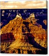 Grand Canyon Painting Sunset Canvas Print