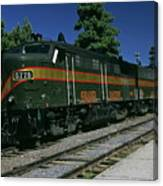 Grand Canyon Railway Train Canvas Print