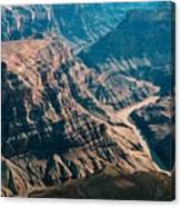 Grand Canyon River Canvas Print