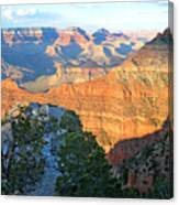 Grand Canyon South Rim at Sunset Canvas Print