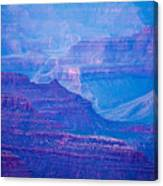 Grand Canyon Sunny Day With Blue Sky Canvas Print