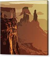 Grand Canyon - Usa Canvas Print