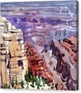 Grand Canyon View Canvas Print