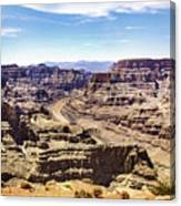 Grand Canyon West Rim Canvas Print