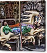 Grand Carousel Hourse Canvas Print