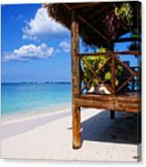 Grand Cayman Relaxing Canvas Print