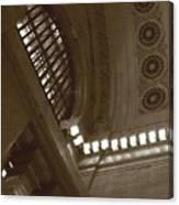 Grand Central Rosettes Canvas Print