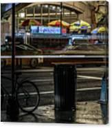 Grand Central Terminalfood Carts Canvas Print