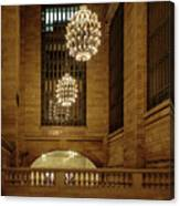 Grand Central Terminal Light Reflections Canvas Print