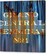 Grand Central Terminal No 1 Canvas Print