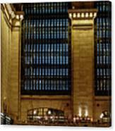 Grand Central Terminal Window Details Canvas Print