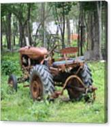 Grand Daddys Tractor Canvas Print