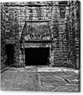 Grand Fireplace Canvas Print
