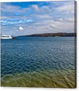 Grand Harbor On Lake Superior Canvas Print
